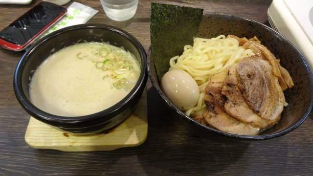 愛知県江南市@赤橙  辛つけ麺