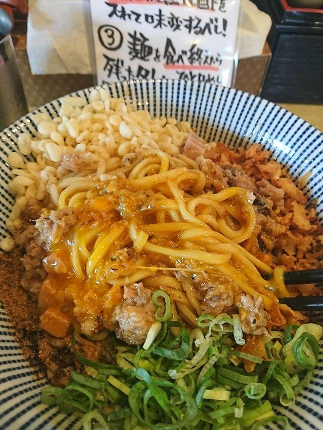 トビウオラーメン島田製麺食