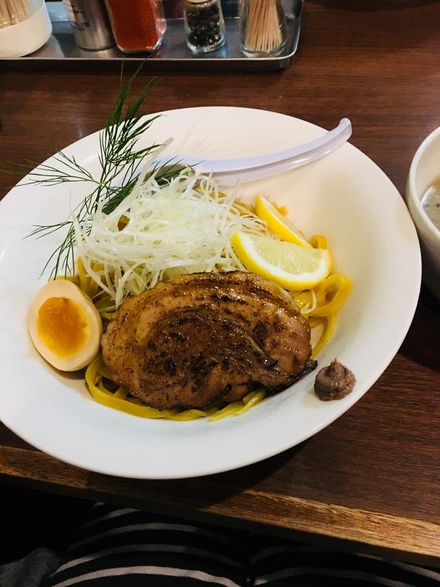 アンチョビつけ麺