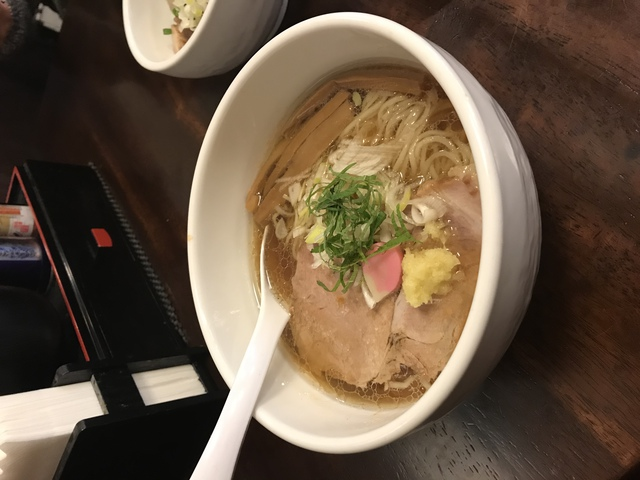麺処丹治 鯵出汁ラーメン