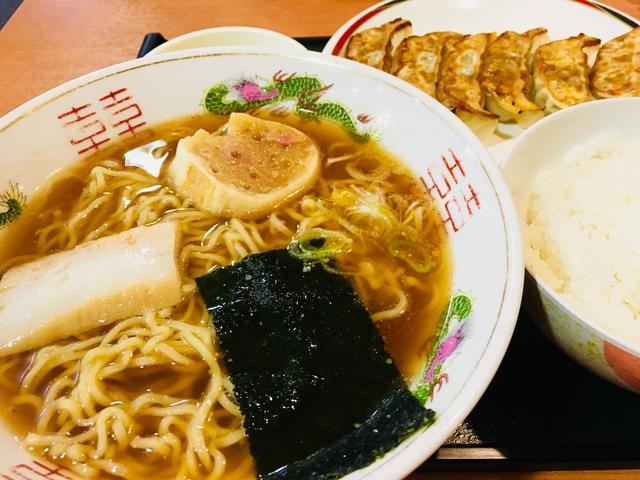 北海道みよしの餃子 ラーメンセット